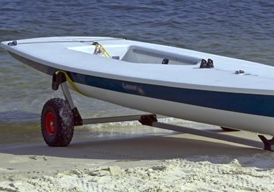 Seitech Beach Launching Dolly for Laser Sailboat