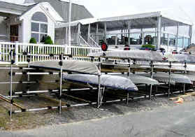 Yacht Club Racks on Ground