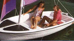 CastleCraft Sunchaser Two Sailboats   Snark Sunchaser II