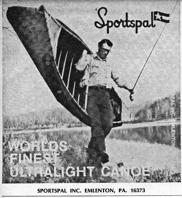 Sportspal Advertisement from 1974