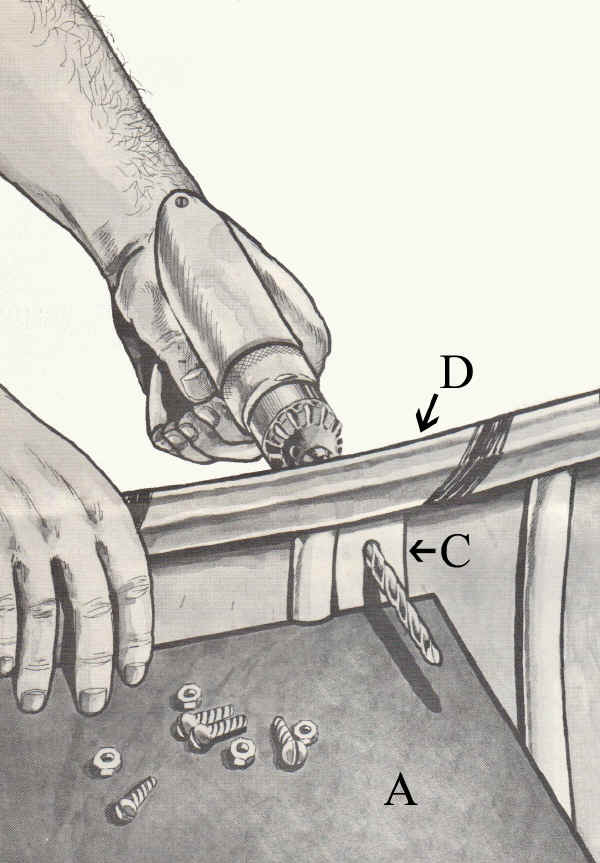 CastleCraft Sportspal Canoe Parts | Part List for Sportspal