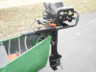 Sportspal Square Stern Canoes Handle Up To 5 Horsepower
