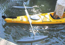 CastleCraft Kayak Stabilizers and Outriggers