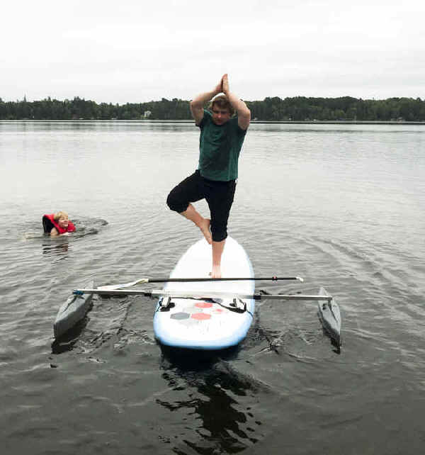 Stabilizer Outrigger for SUP Stand Up Paddle Boards