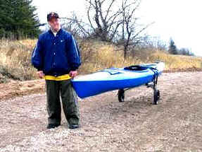 Folding Kayak Cart