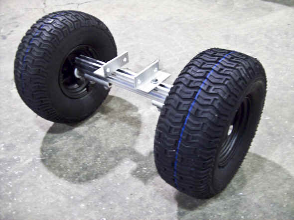 Trailex Launching Dolly Nose wheel Option