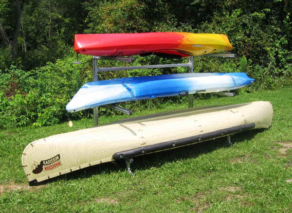 Trailex 3 Canoe Kayak Storage Rack