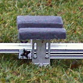 Trailex Universal Launching Dolly - Front Bow Support Detail