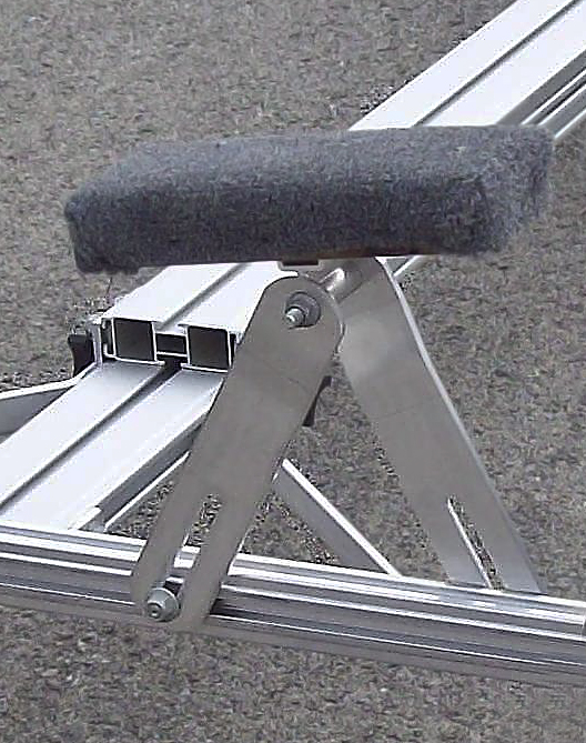Trailex Universal Launching Dolly has Heavy Duty Bunks
