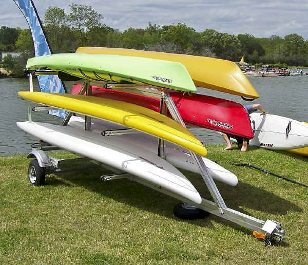 SUT-450-M6 Carries Multiple Kayaks and Paddle Boards