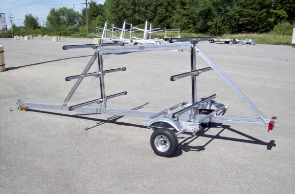 SUT-450-M6 Multiple Kayak and Paddle Board Trailer