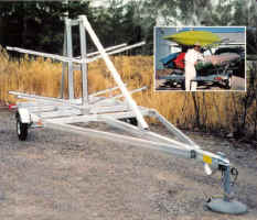 Trailex 16 Kayak Trailer