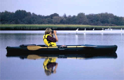 Lady with Camera in Walden Scout Kayak