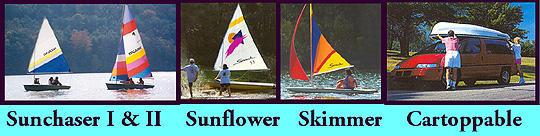 CastleCraft Sunflower Sailboat | Snark Sunflower 3 3 Sailboats